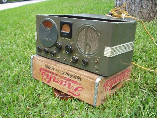 Hallicrafters S-38B Radio Manual With Added Service Info /& Color Chassis Photo